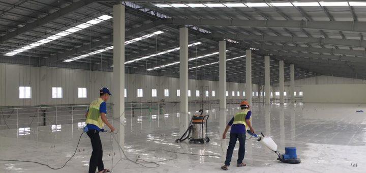 Dịch vụ vệ sinh nhà xưởng ở Lê Chân Hải Phòng